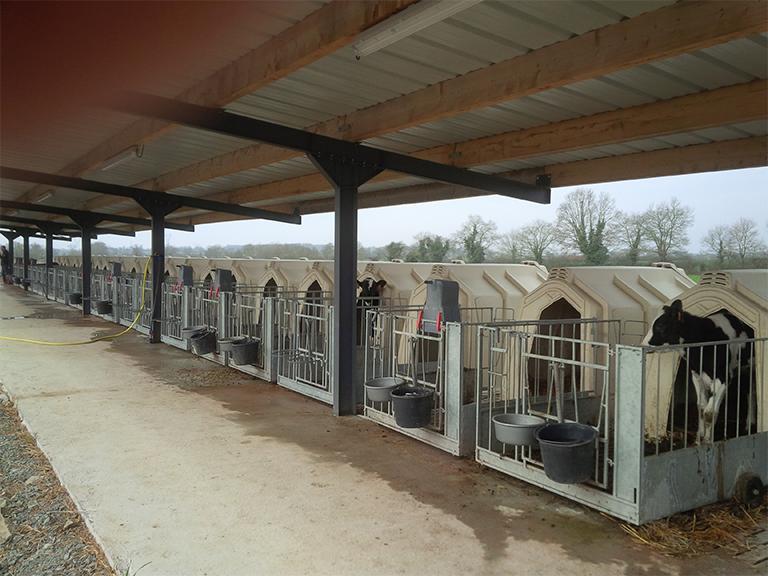 niche pour le confort des animaux