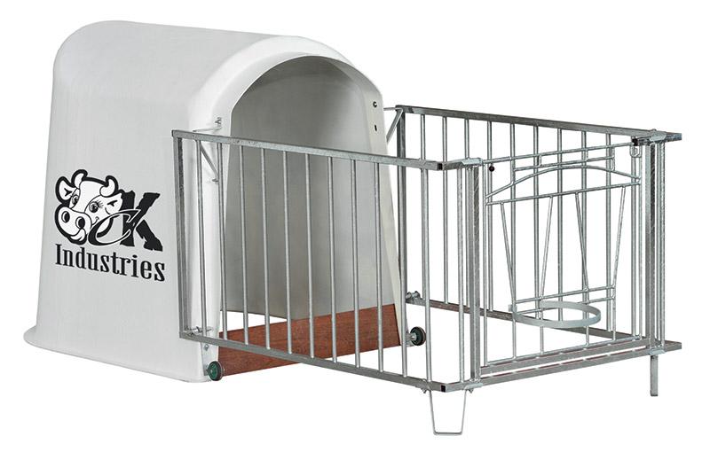 case pour les veaux confort des animaux