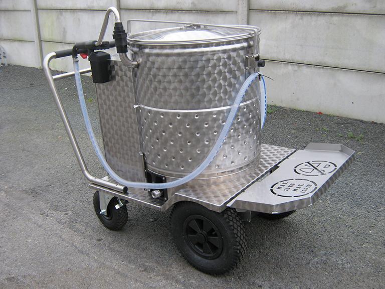 taxi à lait par i3e élevage
