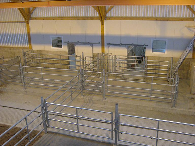 tubulaire, barrieres pour vaches