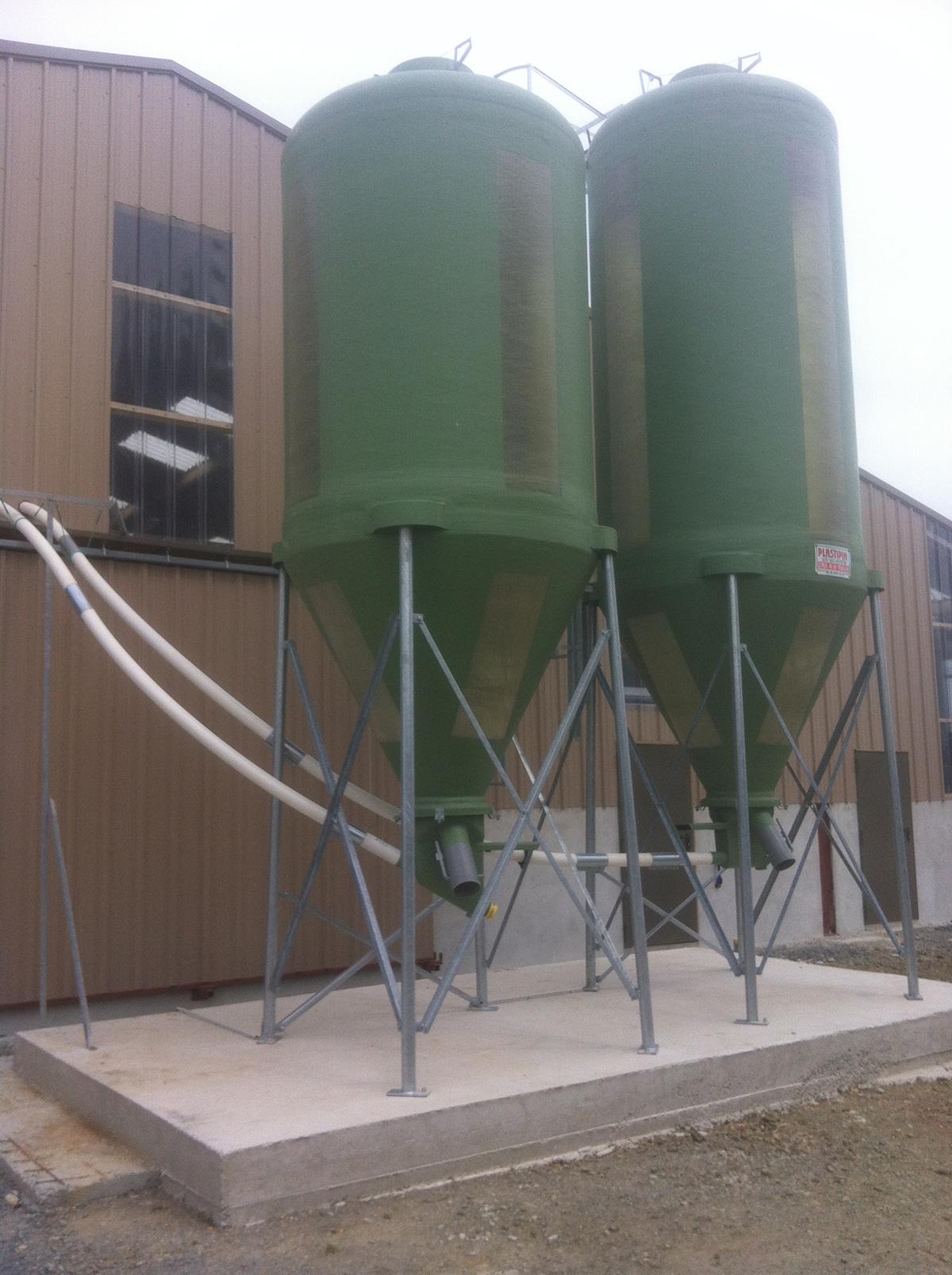 silo polyester I3E élevage cholet