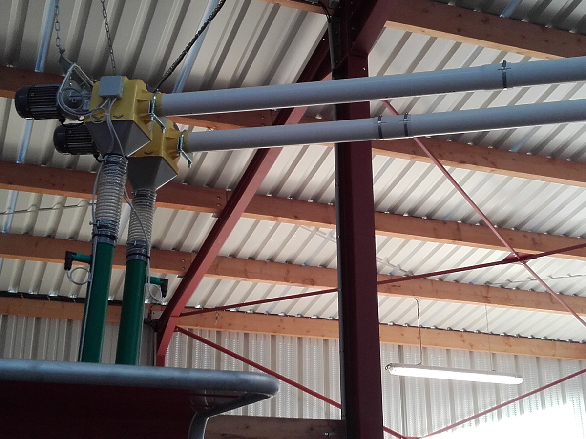 Vis silo solution plomberie electricité