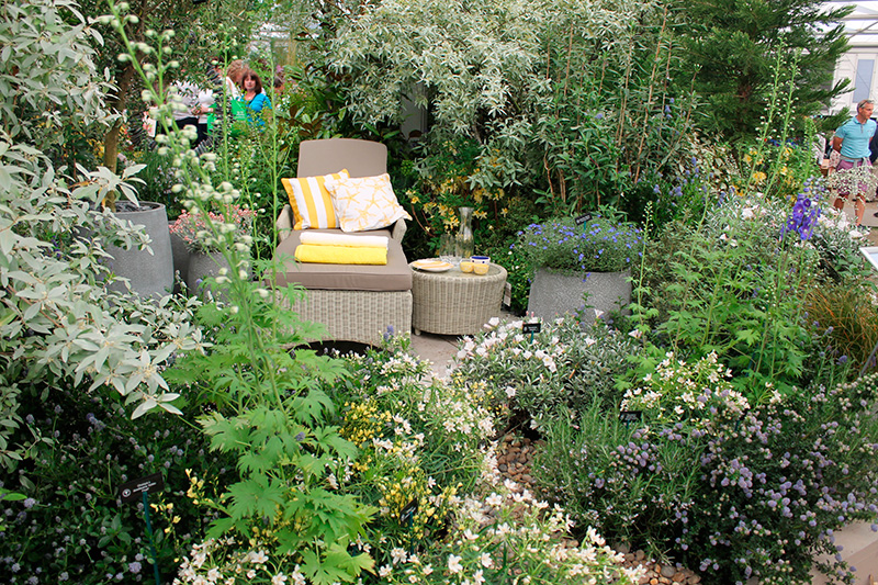 Id es jardins for Amenager un jardin anglais